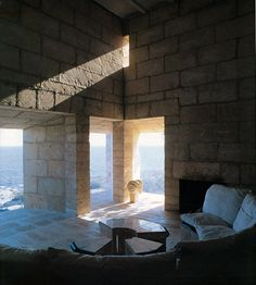 Jorn Utzon, Porto Petro, Mallorca 1971-73. Arquitectura. Vivienda unifamiliar. Viviendas. Jorn Utzon