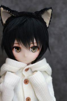 【DOLCHU】DDH-01カスタムヘッド+MDD黒猫セット_画像2