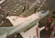 """A-4Q Skyhawk in the """"25th of may"""" before the Falklands war, this aircraft was shot down 21/05/82 by a Sea Harrier."""