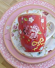 Antique China Dishes, Red Cottage, Pip Studio, Dinner Sets, China Patterns, Pretty In Pink, Tea Party, Dinnerware, High Tea