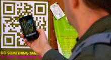 QR Codes ~ Use the latest trend in mobile marketing:  Customers scan for quick website access - Add QR Codes to take-out menus and flyers - Track all scans through location analytics - Place in-store or on doors for mass exposure.  ~ http://MobileSiteCommanders.com
