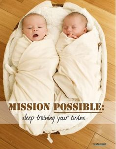 Sleep training twin is possible! Pinning this just in case. Ya never know!