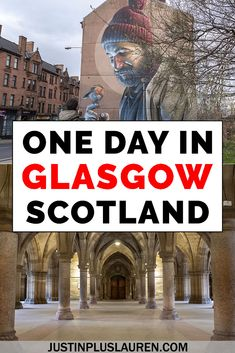 Even if you have just one day in Glasgow, you'll have an amazing time in this vibrant Scottish city. Here's the best Glasgow travel guide for 1 or 2 days in Glasgow. Lots of suggestions for activities, sightseeing, accommodations, restaurants, and more!   #Glasgow #Scotland #Travel #Itinerary #ThingsToDo  Things to do in Glasgow | Glasgow Scotland Guide | Glasgow Travel Guide | Glasgow Itinerary | What to do in Glasgow | Glasgow in a Day | Weekend in Glasgow | 1 Day in Glasgow | 2 Days in Glasgo