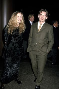 """Julie Delpy and Ethan Hawke during Los Angeles Premiere of """"Before Sunrise"""" at Directors Guild in Hollywood, California, United States. (Photo by Jim Smeal/WireImage) Time Photo, Movie Photo, Movie Tv, Before Midnight, Before Sunset, Sandro, Before Trilogy, Divas, Julie Delpy"""