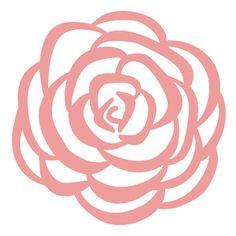 Silhouette Design Store - View Design #155599: rose
