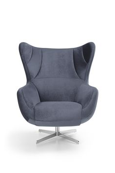 Fotel Presto - przytulny, miękki uszaty mebel, który zapewni Ci przyjemny wypoczynek w pojedynkę. #GalaCollezione #fotele #TwojaStrefaRelaksu #design #wnętrza #interiordesign #inspiracje #inspiration
