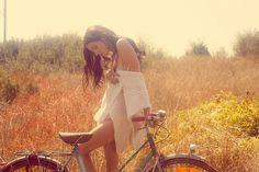 girl on bike... | Shared from http://hikebike.net