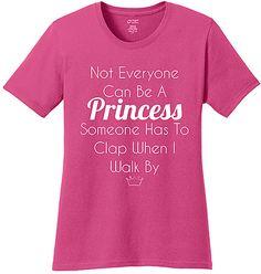 Sangria 'Not Everyone Can Be a Princess' Tee