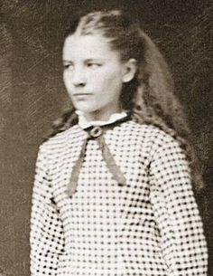 Laura Ingalls Wilder - She was born 100 years & 9 days before me, Feb 7, 1867. She's the middle of 3 sisters and a Daddy's girl and she loved to fish. hhhmm  no wonder I've always liked her.