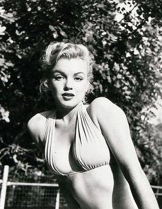 Marilyn Monroe. Photo by Bob Beerman, 1950.