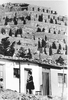 Xavier Miserachs. Barraques de Can Tunis, anys 60.