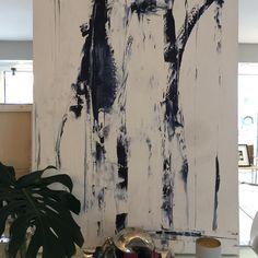 """December"" can be seen @swoonwestport and making it's way to the Farrow & Ball store in Westport CT.  For inquiries contact Sue @swoonwestport. #art #artwork #abstract #abstractlandscapes #beachvibes #coastaldeco #seascape #interiorinspo #interiordecor #luxurydecor #decordetails #painting #buyoriginalart #designdetails #interiordetails #contemporarypainting #coastallifestyle #homedecor #originalart #oilpainting #acrylicpaintings #wallart #plannthat #galleryartist #swoonwestport #traceykafka…"