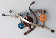Fabulous Modern Pin from MADE Studio by David Jones - Unique - Unusual - Handmade - Sterling -