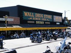 Rapid City - Wall Drug about 15 hrs & 49 mins.