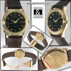 Piaget GOA Automatico cassa in oro giallo, cinturino in pelle, Con scatola e documenti. Anno 1995