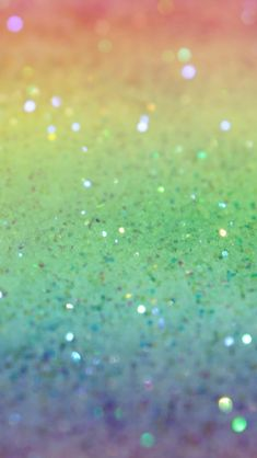 Rainbow glitter background