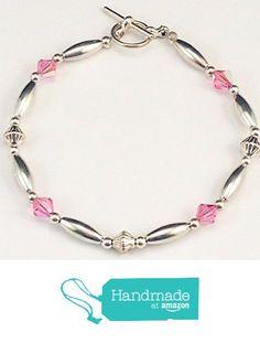 Swarovski Crystals, Beaded Bracelets, Personalized Items, Amazon, Pink, Handmade, Amazons, Hand Made, Riding Habit