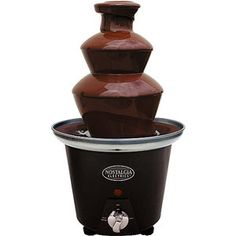 Nostalgia Electrics 2-Tier Chocolate Fondue Fountain, CFF-965