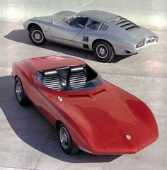 Chevrolet Corvair Monza SS Concept Car