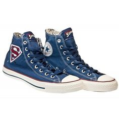 #sneakers #converse #superman