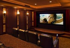 Home Theatre And Media Design And Installation Design Ideas, Pictures, Remodel, and Decor - page 32