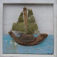 Driftwood Boat 1   par hanspeterroersma