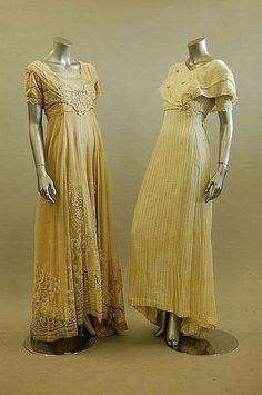 Gowns ~ 1910