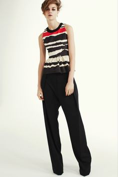 Love this top. Preen Pre-Fall 2013.