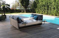 meubles design pour la terrasse par Roberti Rattan