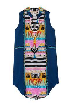 Mara Hoffman      Sunrise Shirt Dress