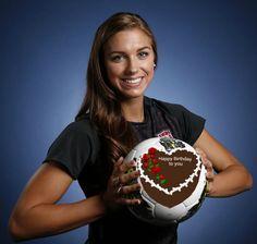 "HAppy birthday Alex Morgan.  Alexandra Patricia ""Alex"" Morgan is an American soccer player"