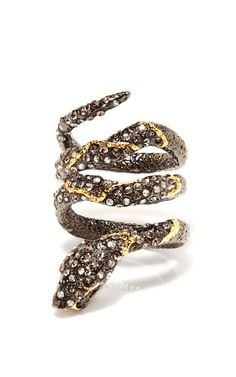 Jardin De Papillon Snake Ring by Alexis Bittar