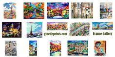 Art Prints France Gallery Ginette Callaway