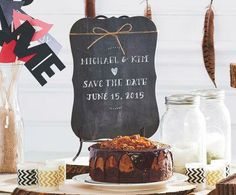 Craft-It™ Chalkboard Save the Date