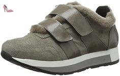MANAS  ANTIBES, Bottes courtes avec doublure chaude femme - Gris - Grau (Fumo+Grigio), 38 EU - Chaussures manas (*Partner-Link)