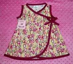 On Sale New Hip Oval Baby  Dress size by consciouschildren on Etsy, $19.99