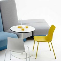 Pull up a seat with our modern Polly chairs. The perfect chair that makes a design statement. What's your colour?