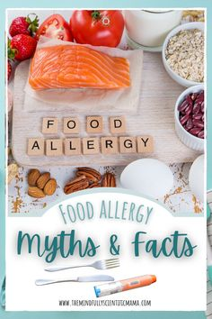 Is epi a safe medication? Are food allergies life threatening? What are the top allergens? Find answers to these and other food allergy questions with this mythbusting article!!! #foodallergies #topallergens #managingfoodallergies Common Food Allergies, Food Hacks, Food Tips, Food Ideas, Food Intolerance, Yummy Food, Yummy Recipes, I Foods, Healthy Living