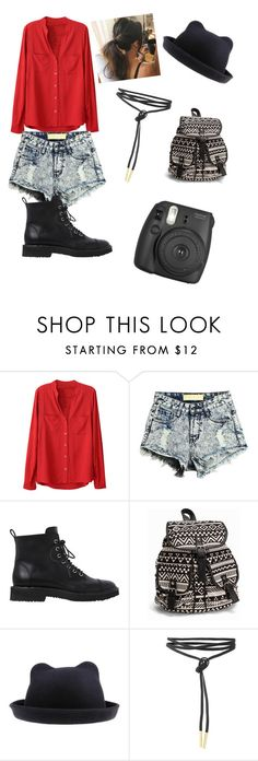 """""""Untitled #135"""" by light-cmx ❤ liked on Polyvore featuring Giuseppe Zanotti, NLY Accessories and Fujifilm"""