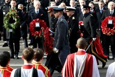 Prince Harry, Duke of Sussex and Prince William, Duke of Cambridge lay wreaths at The Cenotaph during the annual Remembrance Sunday memorial on November 2018 in London, England. The armistice. Queen Husband, Remembrance Sunday, Duke Of Cambridge, Harry And Meghan, Prince Harry, Prince William, London England, First World, November
