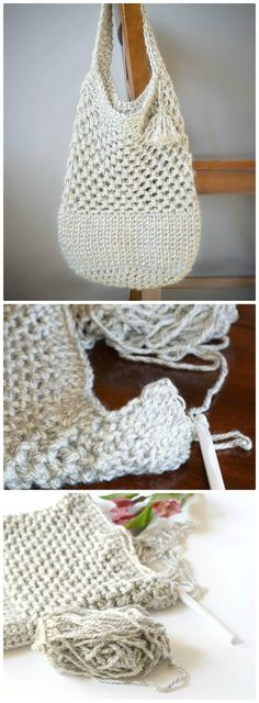 Easy Manhattan Market Tote – Crochet Pattern