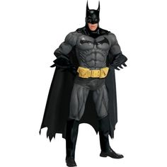 DisfracesMimo, disfraz de batman elite gris talla estandar para hombre adulto, este traje para tematica de superheroes de batman. Transfórmate con un increible realismo en el superhéroe de DC comics y paséa por las calles de Gotham con este Disfraz de Batman Élite.