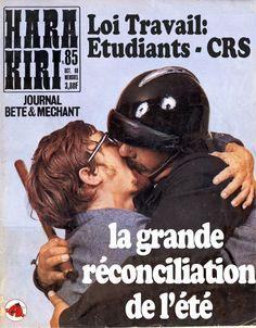 CRS Etudiants Violences Policières : grande réconcilation de l'été