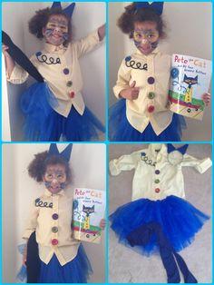 Best Ideas Children Book Characters Dress Up Pete The Cats Teacher Halloween Costumes, Cat Costumes, Halloween Themes, Fall Halloween, Halloween 2018, Story Book Costumes, Storybook Character Costumes, Storybook Characters, Book Character Day