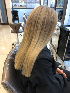 Ashy Highlights. Cool Blonde. Long Hair. Sleek. Smooth. Cool Blonde, Hair Colors, Highlights, Stylists, Smooth, Long Hair Styles, Beauty, Long Hairstyle, Haircolor