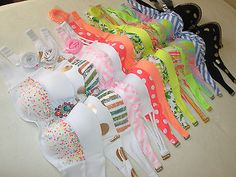 Victoria's Secret Beach Sexy Push-Up Bandeau Swim Bikini Strapless Swimsuit Top