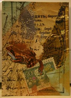 Nick Bantock is known throughout the world for his art, for his writing and particularly for his marriage of the two.