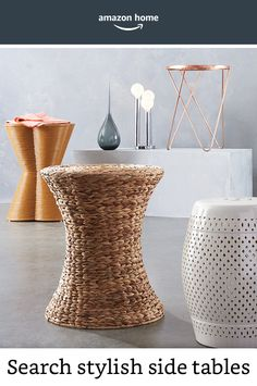 Find a wide selection of stylish side tables today!