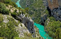 Gorge du Verdon, France (© age fotostock/Alamy)