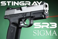 STINGRAY by ArmaLaser SR3 for S SW Smith and Wesson SIGMA LASER. Momma needs:)